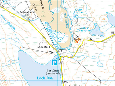 Achnahaird Map, click to open